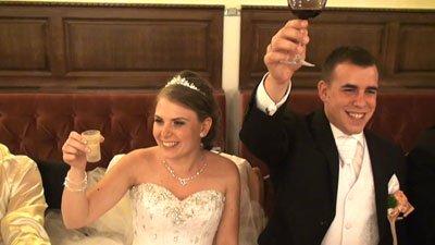 Adrienn és Gyula esküvőjének legszebb pillanatai